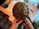 уроки плетения французских косичек