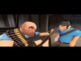 Прикол Про Team Fortress 2 И немного майнкрафта