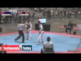 2015 US Open Taekwondo Championships (Semi Final)  COOK, AARON vs  YEREMYAN, ARMAN