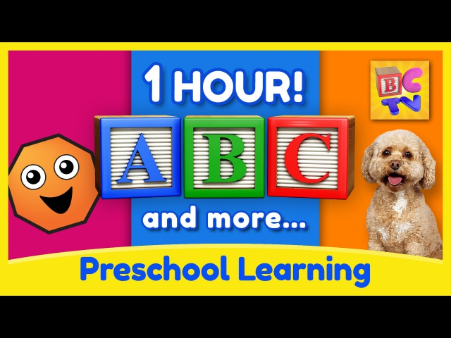 Learning Collection by Brain Candy TV |Vol 1| Learn English, Numbers, Colors and More