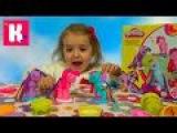 Май литл Пони МЛП набор пластилина Плейдо распаковка MLP My Little Pony unboxing Play-Doh set