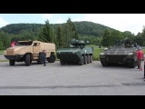 TATRA Excalibur test drive live demonstration Titus Ascod Pandur II armoured tactical trucks Web TV