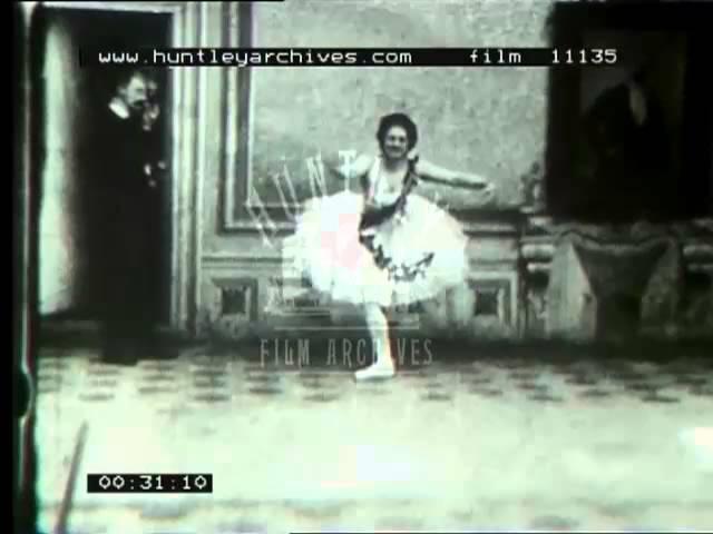 Балет в 1890 году. Ballet Dancer, 1890s -- Film 11135