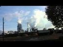 Produkcja chmur w Szczecinku производство облаков в Щецинеке Так компания Кроно отравляет город Польша Кроношпан 30 о