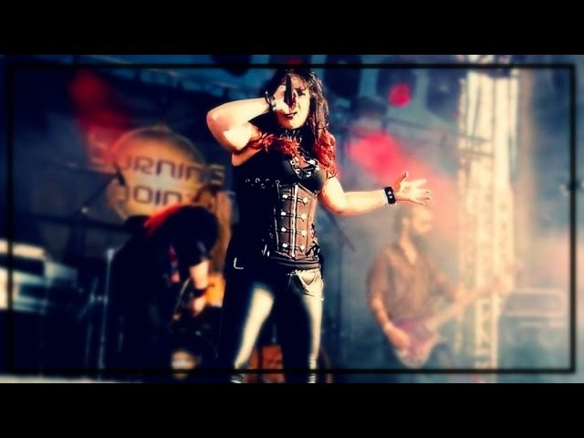 BURNING POINT - Queen Of Fire (2015) official clip AFM Records