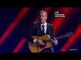 Viva La Vida - Coldplay (Chris Martin + guitar) acoustic live HD