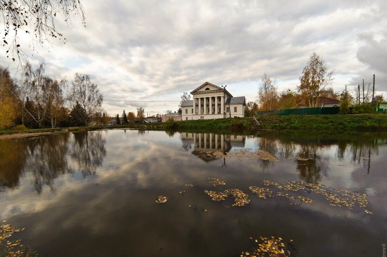 Дом правления нераздельным имением Строгановых в Пермской губернии