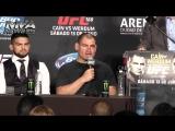 UFC 188 Лучшие Моменты с Пресс-конференции После Турнира