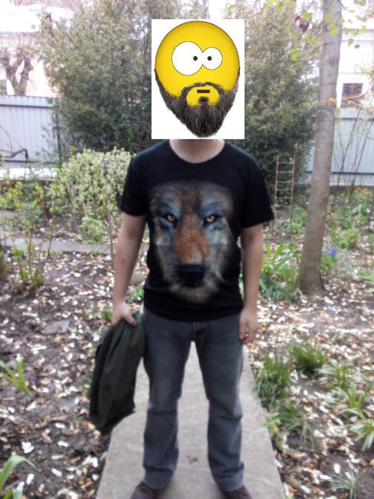 Aliexpress: Футболка с реалистичным принтом и милитари рубашка