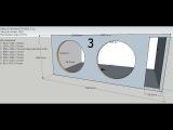 Корпус для ДВУХ Alphard Hannibal FX30D2 от Decibel