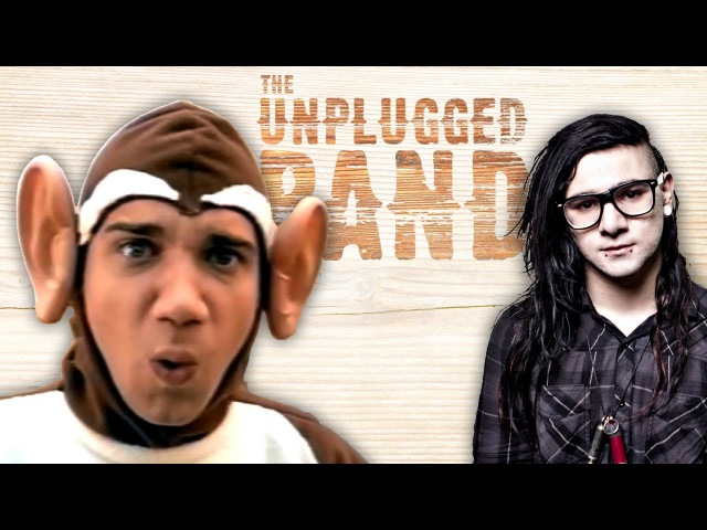 THE BAD TOUCH KILL EVERYBODY The Unplugged Band Bloodhound Gang Skrillex acoustic cover