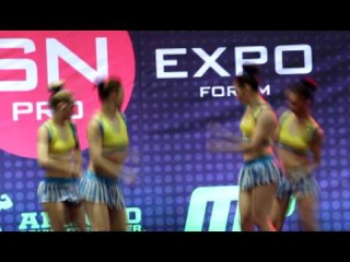 Команда Dance House 4. Sn Pro Pole Dance Shampionship 2014