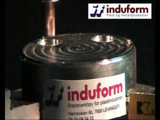 Высокоскоростное фрезерование никель хромового сплава
