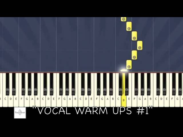 ♬ VOCAL WARM UPS 1 (3 OCTAVES) MAJOR SCALES ♬