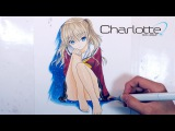 Drawing Nao Tomori from Charlotte