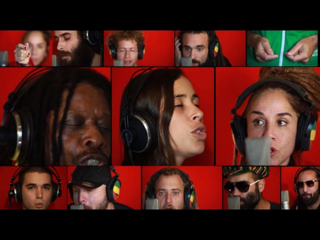 Happy 70th Birthday Bob Marley - Could You Be Loved [Acapella Version 2015] MARLEY70