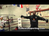 mike perez looking like a new fighter with robert garcia - EsNews Boxing