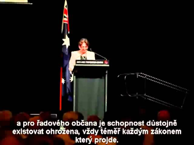 Odhalení PRAVDY o SVĚTOVÉ NAD VLÁDĚ USA z úst australské senátorky Ann Bressington