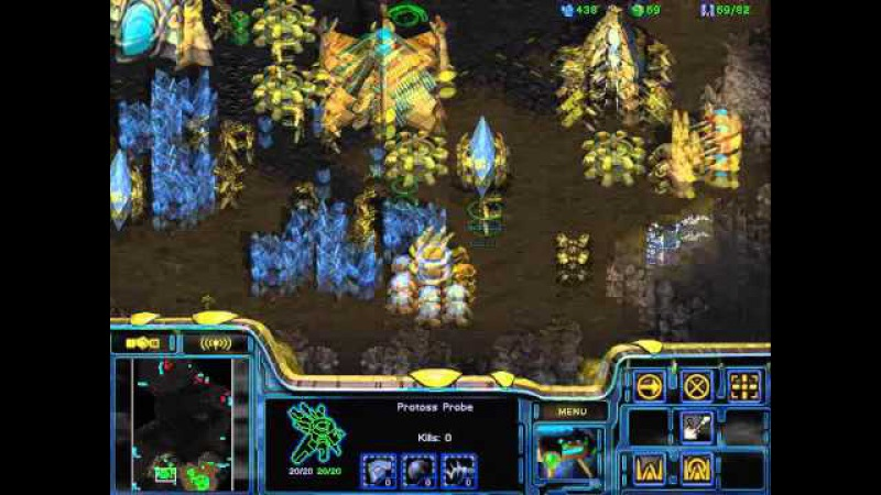 StarCraft Brood War [FPVOD] 30 01 2010 White Ra ЛКИ игра 2 PvZ