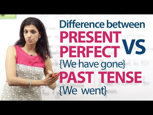 Present Perfect tense (We have gone) and Simple past tense (we went) – English Grammar Lesson