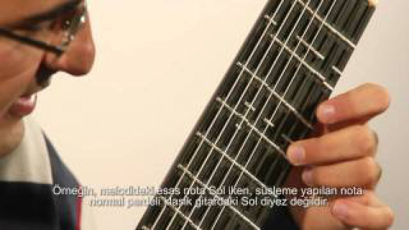 Microtonal Guitar (Adjustable) - Tolgahan Çoğulu - Part 1 - Maqam Music