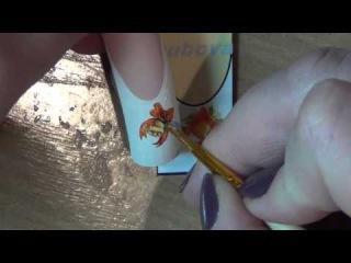 художественная роспись ногтей.Nail art painting