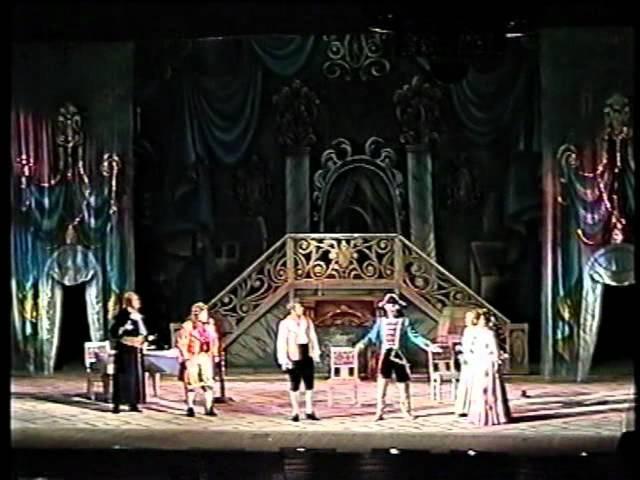 Борис Штоколов и Владимир Самсонов в опере Севильский цирюльник