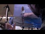 Моя первая картина! Живопись это просто! Художник Игорь Сахаров. М-к в Питере
