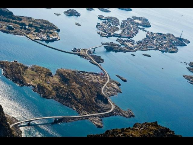 По Норвегии на мотоциклах Атлантическая дорога