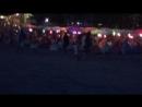 Вечерний пляж Кута на Бали)