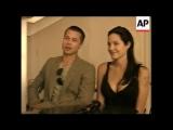 Брэд Питт и Анджелина Джоли на официальной пресс-конференции в Намибии рассказали про новорожденную дочь Шайло