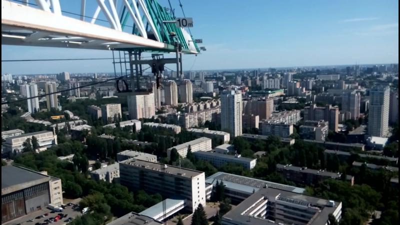 Вид на Киев с кранаJASO110