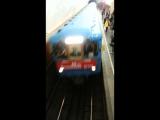 Парад поездов. 80-летие метрополитена