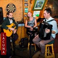 Логотип Lacuna ирландская музыка/Irish folk/Ceglidh band