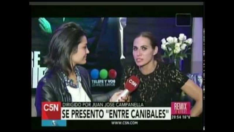 C5N - REMIX DE NOTICIAS: ENTREVISTA AL ELENCO DE ENTRE CANIBALES
