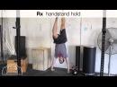 Handstand Holds Progression Barbell Shrugged Progression Series