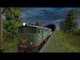 ТЭ3-7801 - Trainz Simulator 12