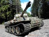 Копия танка пантера стрельба проходимость 720 & 1080 | красотище круто игрушка точная коллекция супер клево вау леопард тигр