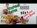 Гитарный Бой №1 - Урок игры на гитаре  ( Guitar Lessons )