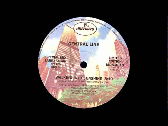 Central Line - Walking Into Sunshine [12 Limited Edition]