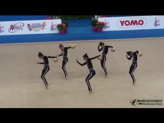 Michael Jackson - Smooth Criminal - Rhythmic Gymnastics - Azerbaijan junior team
