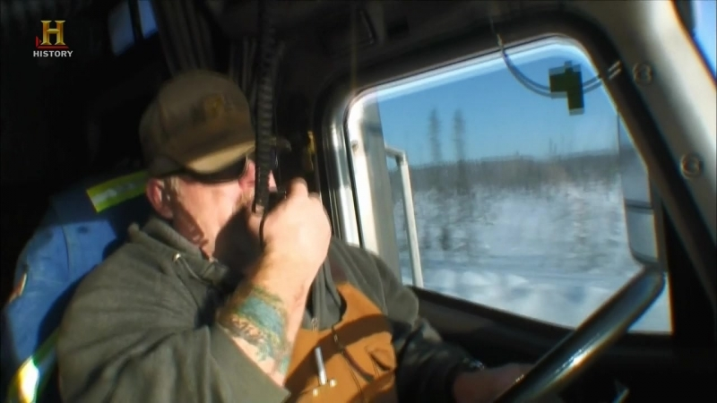 Ледовый путь дальнобойщиков / Ice Road Truckers / 7 сезон 3 серия