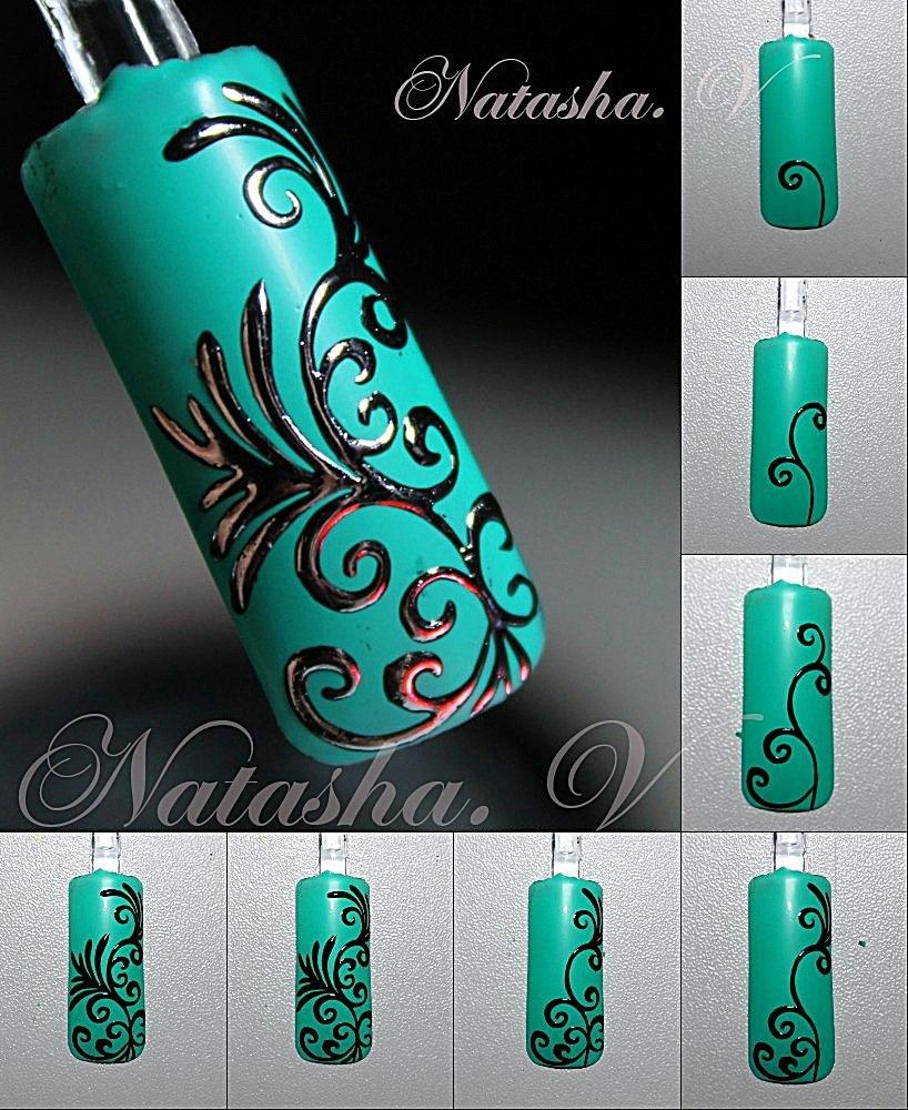 Дизайн ногтей гель лакам для начинающих