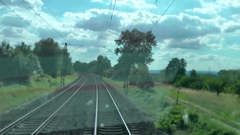 Fuhrerstandsmitfahrt BR 120 Mainz - Bingen