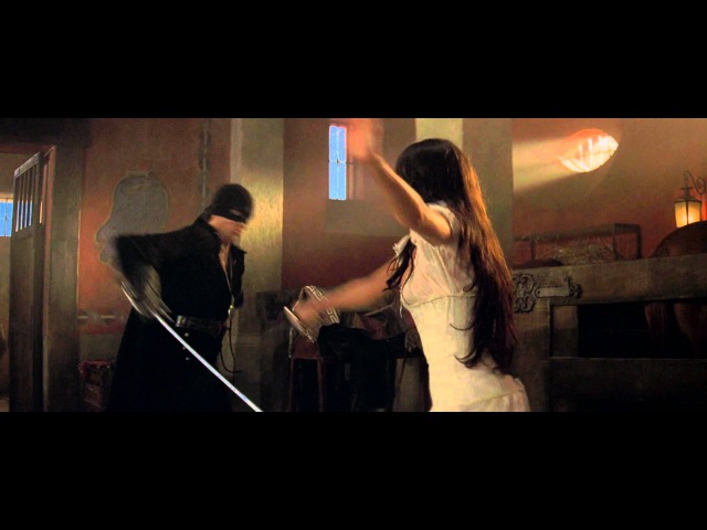 The Mask of Zorro - Antonio Banderas Catherine Zeta-Jones