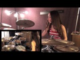 RED HOT CHILLI PEPPERS - GIVE IT AWAY - DRUM COVER BY MEYTAL COHEN