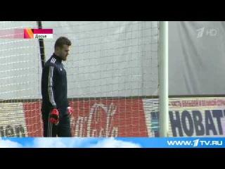 И.Акинфеев готовится сыграть с `Зенитом` в центральном матче 21-го тура Чемпионата России