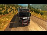 ETS2  Scania R 2009 + Trailer Batik Jamplrang INA