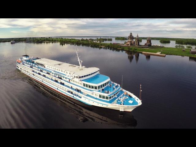 Best of Cruise Moscow - St.Petersburg Aerial Круиз Москва - Санкт-Петербург съемки с коптера