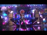 David Guetta ft. Nicki Minaj - Turn Me On and Super Bass Live At AMA 2011